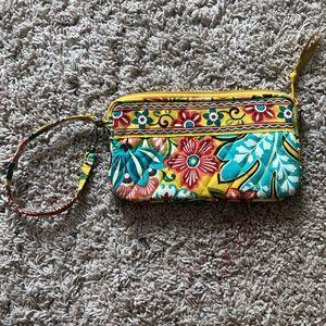 Vera Bradley clutch zip wallet